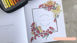 [Review] Flowerscape Coloring Book by Maggie Enterrios